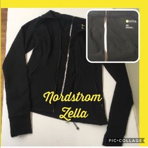 Nordstrom fitness jacket tight stretchy gym sporty
